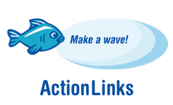 Make a wave! Action Links