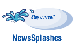 Stay current! News Splashes